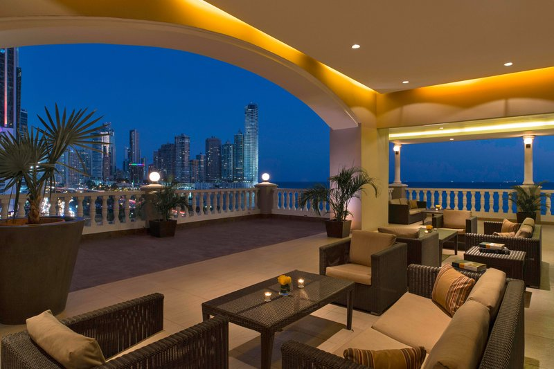 Le Meridien Panama - Pool Terrace <br/>Image from Leonardo