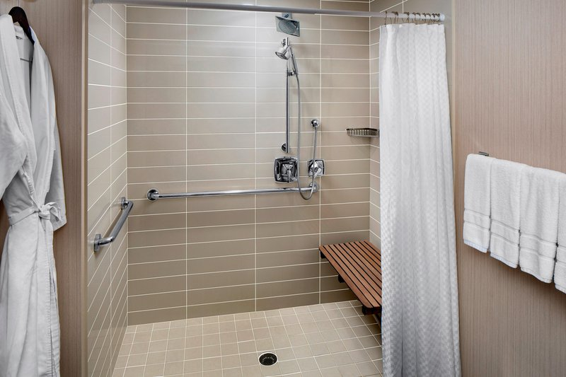 The Westin Hilton Head Island-Accessible Guest Bathroom - Roll-In Shower<br/>Image from Leonardo