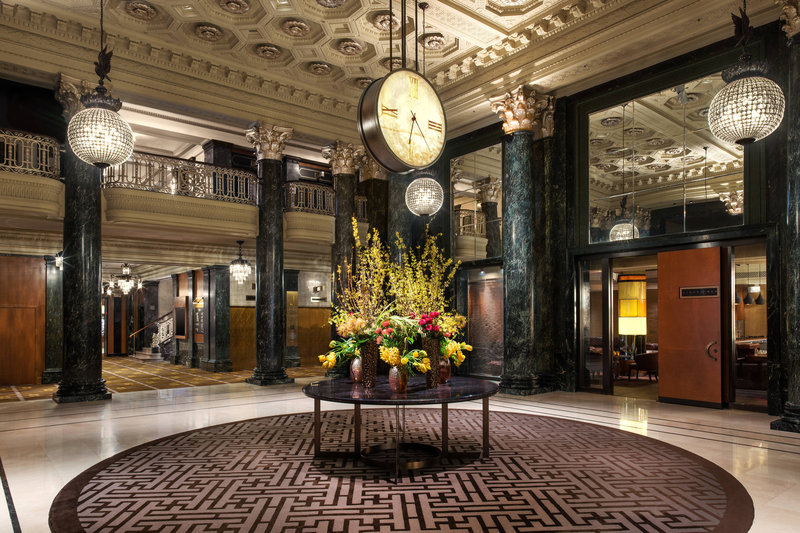 The Westin St. Francis - Lobby <br/>Image from Leonardo