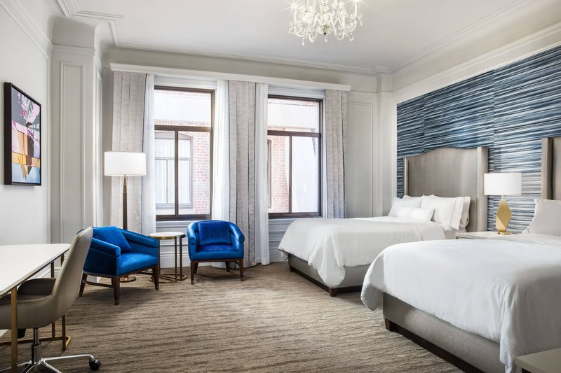 The Westin St. Francis - Double/Double Traditional Guest Room <br/>Image from Leonardo