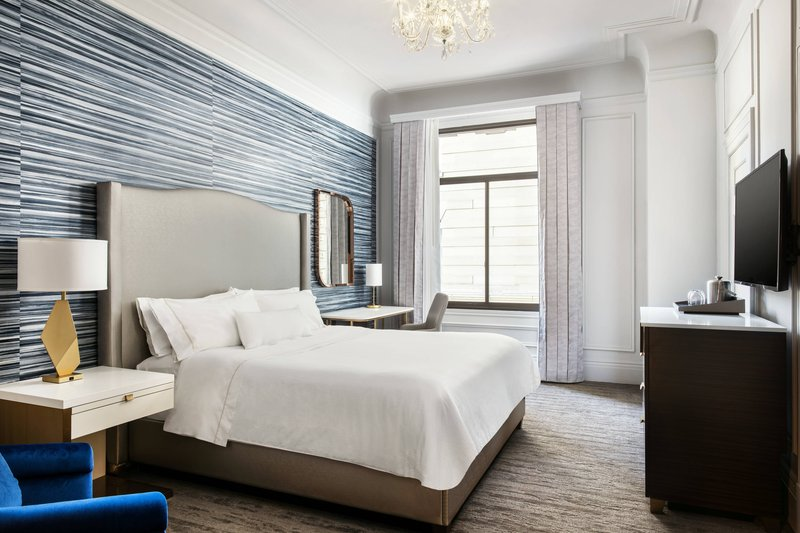 The Westin St. Francis - King Deluxe Guest Room <br/>Image from Leonardo