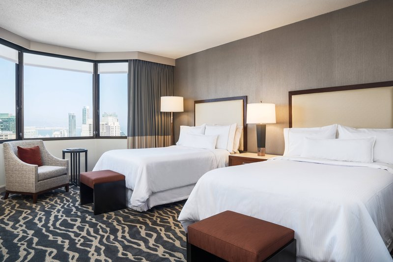 The Westin St. Francis - Tower Building Grand Deluxe Double/Double Guest Room <br/>Image from Leonardo