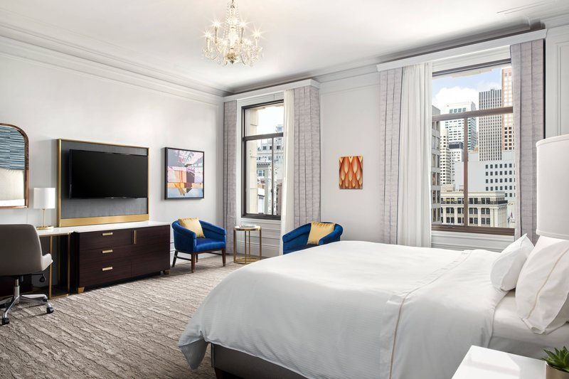 The Westin St. Francis - King Grand Deluxe Guest Room <br/>Image from Leonardo