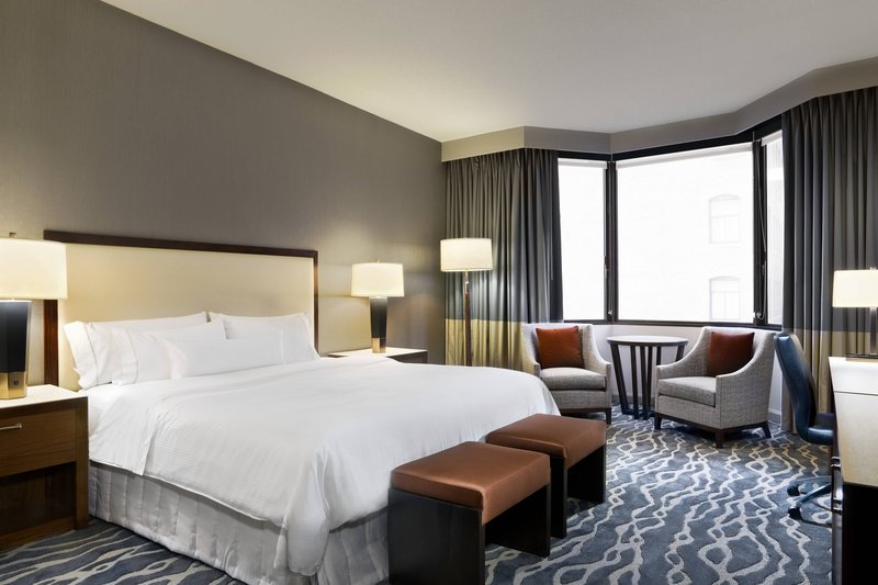 The Westin St. Francis - Tower Building Deluxe King Guest Room <br/>Image from Leonardo