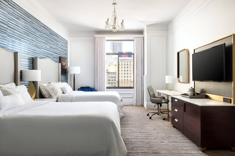 The Westin St. Francis - Double/Double Grand Deluxe Guest Room - Union Square View <br/>Image from Leonardo