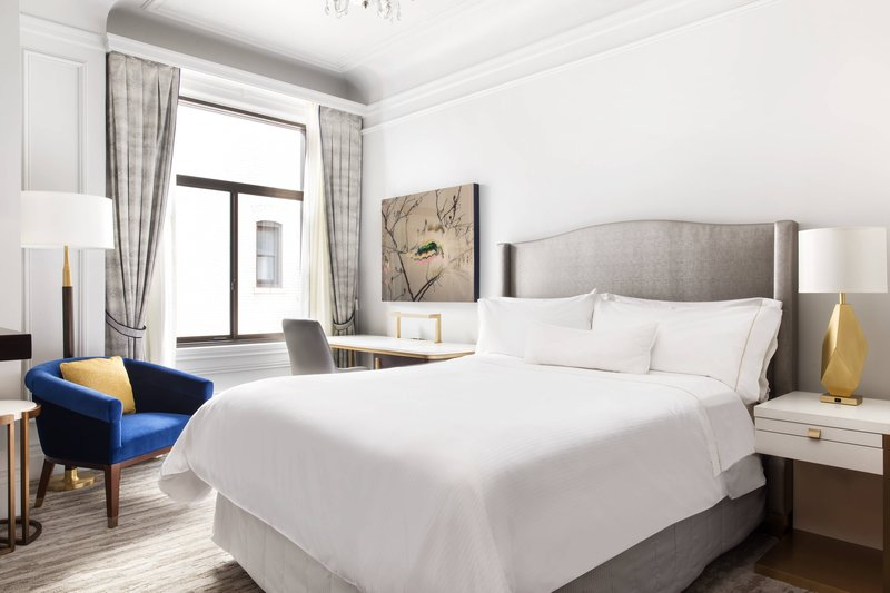 The Westin St. Francis - Queen Guest Room <br/>Image from Leonardo