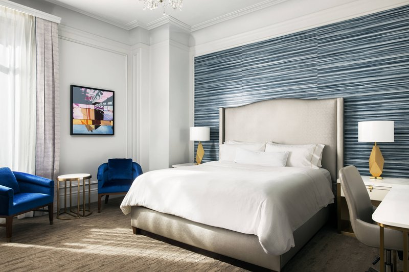 The Westin St. Francis - King Traditional Guest Room <br/>Image from Leonardo