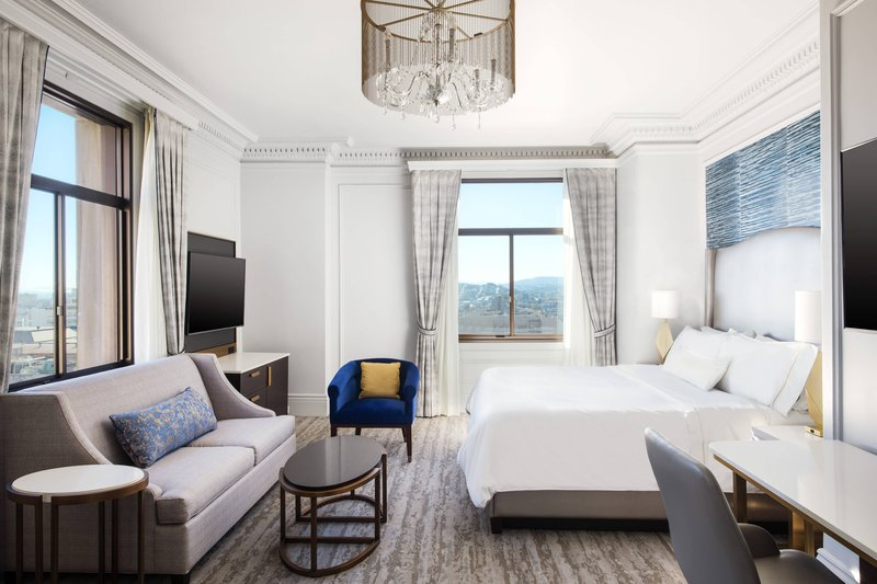 The Westin St. Francis - Junior King Suite <br/>Image from Leonardo