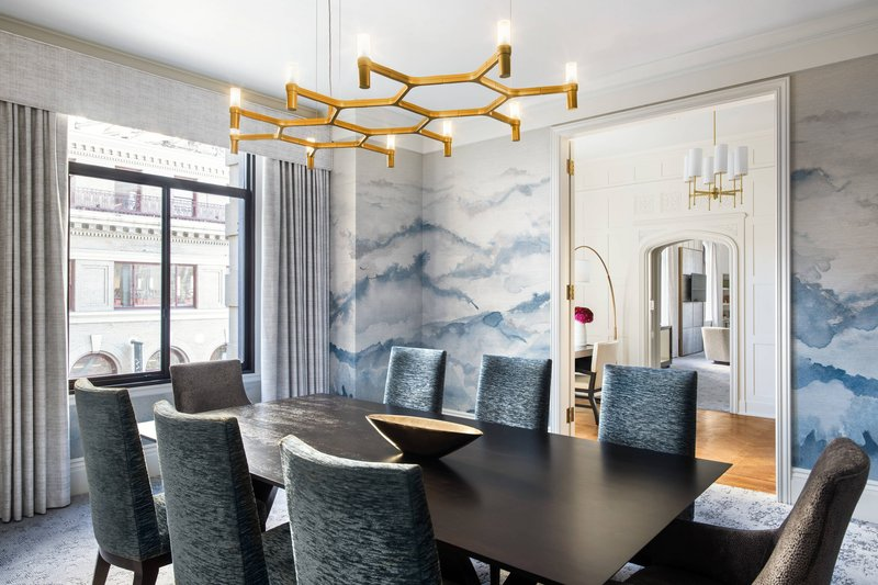 The Westin St. Francis - Three-Bedroom Chairman Suite - Dining Room <br/>Image from Leonardo