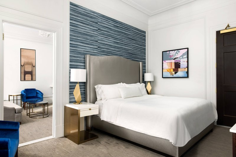 The Westin St. Francis - Landmark Building Classic Suite – Bedroom <br/>Image from Leonardo