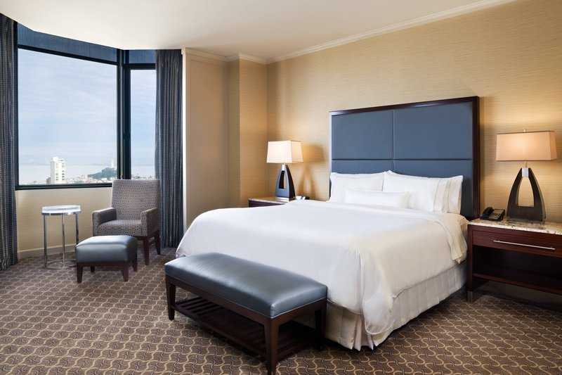The Westin St. Francis - Tower Building Pacific Suite – Bedroom <br/>Image from Leonardo
