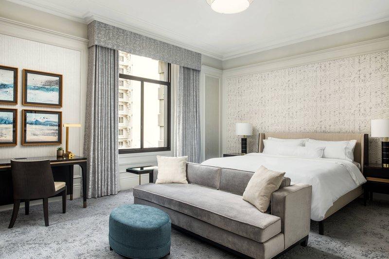 The Westin St. Francis - Landmark Building MacArthur Suite - Bedroom <br/>Image from Leonardo