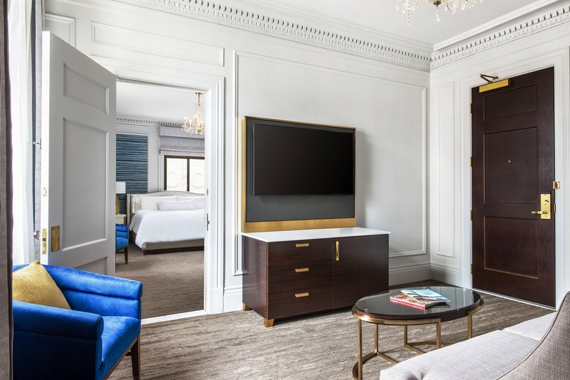The Westin St. Francis - One-Bedroom Parkview Suite - Living Area <br/>Image from Leonardo