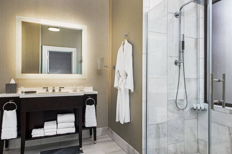 The Westin St. Francis - One-Bedroom State Suite - Bathroom <br/>Image from Leonardo
