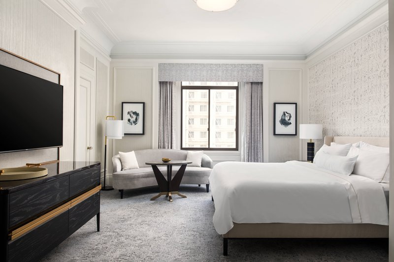 The Westin St. Francis - One-Bedroom State Suite - Bedroom <br/>Image from Leonardo