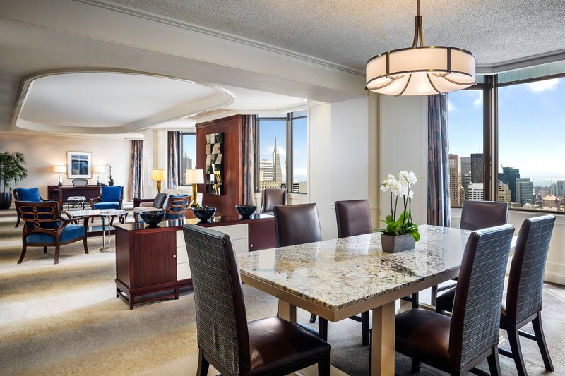 The Westin St. Francis - One-Bedroom Windsor Suite - Living Area <br/>Image from Leonardo