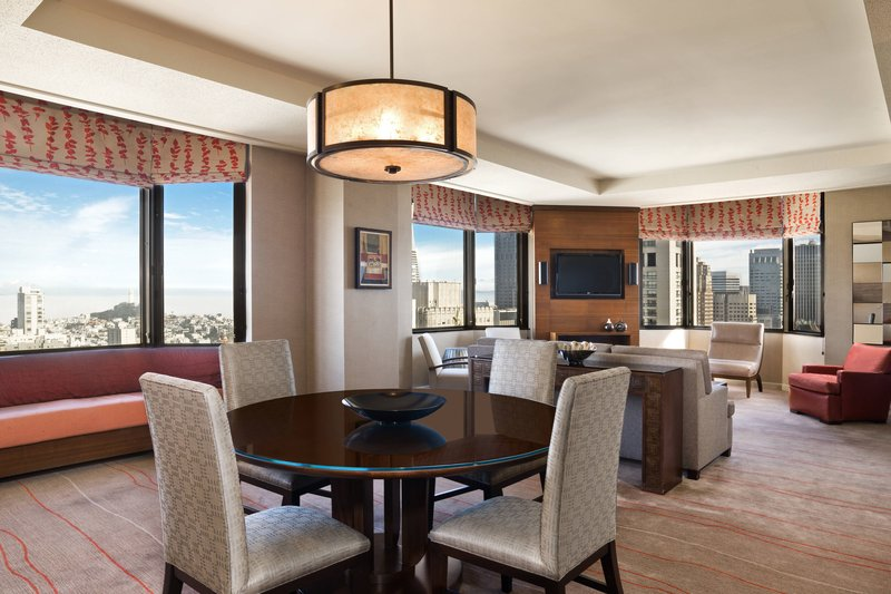 The Westin St. Francis - Tower Building Bridgeview Suite – Parlor <br/>Image from Leonardo