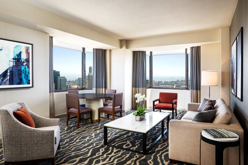 The Westin St. Francis - Tower Building Cityview Suite – Parlor <br/>Image from Leonardo