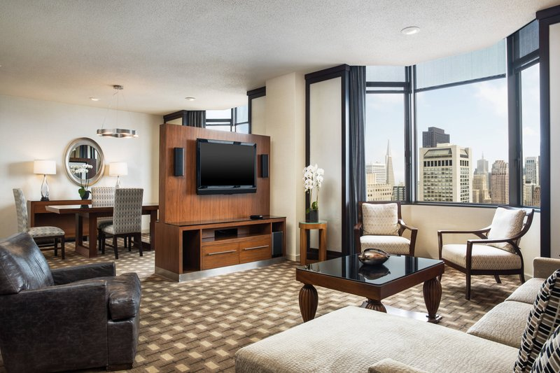 The Westin St. Francis - Tower Building Union Square Suite <br/>Image from Leonardo