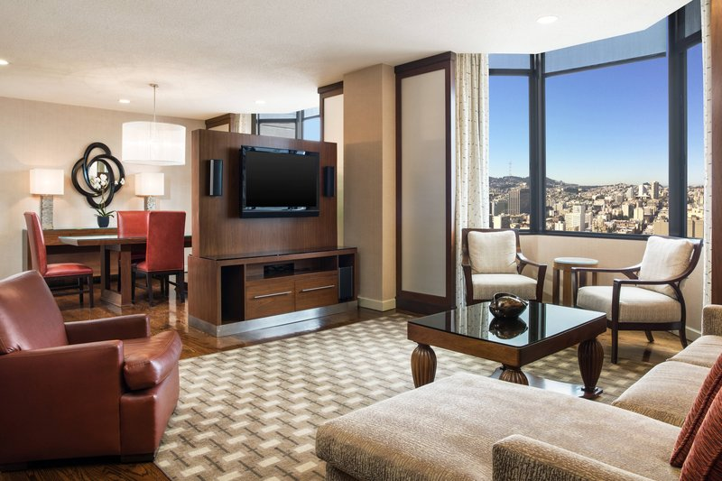 The Westin St. Francis - Tower Building Golden Gate Suite – Parlor <br/>Image from Leonardo