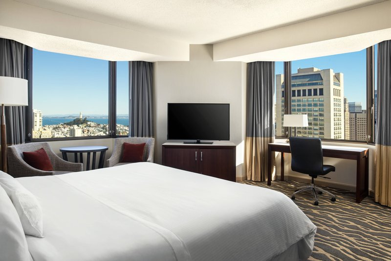 The Westin St. Francis - Tower Building Junior Suite Coit Tower View <br/>Image from Leonardo