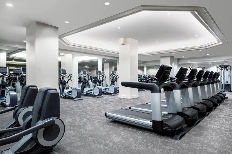 The Westin St. Francis - Fitness Center <br/>Image from Leonardo