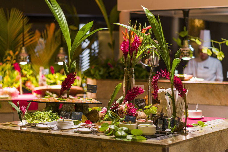 Intercontinental Bora Bora Resort-Indulge in our delicious buffet at the Reef Restaurant<br/>Image from Leonardo