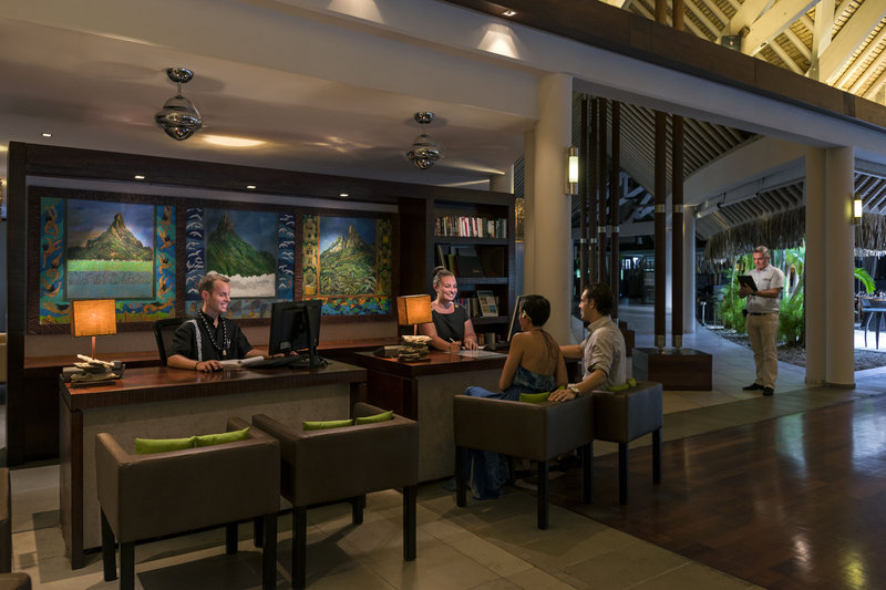 Intercontinental Bora Bora Resort-Meet our team at the Concierge desk<br/>Image from Leonardo