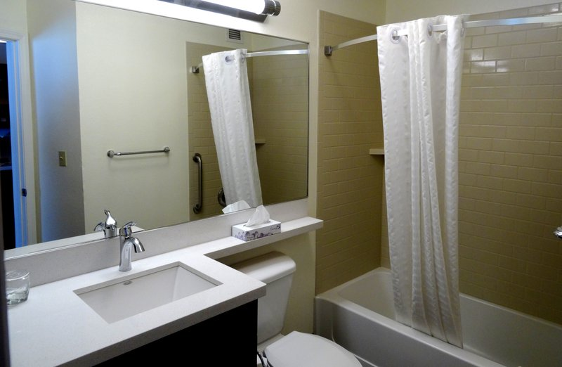 Candlewood Suites Boston-Burlington-Guest Bathroom<br/>Image from Leonardo