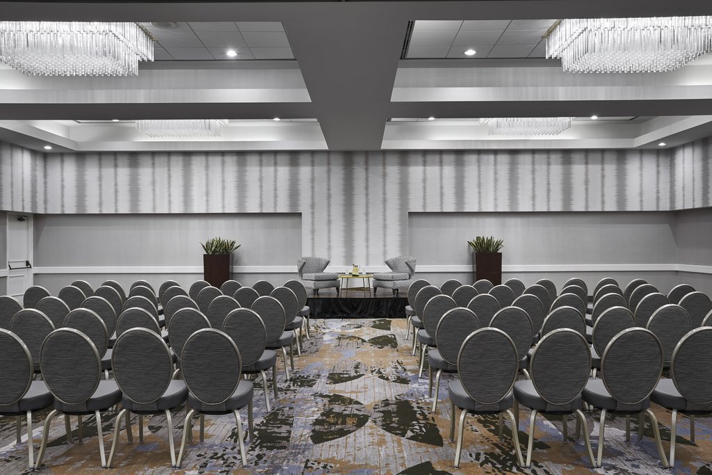 Holiday Inn Hotel &amp; Suites Alexandria Old Town-Theater Set Up<br/>Image from Leonardo