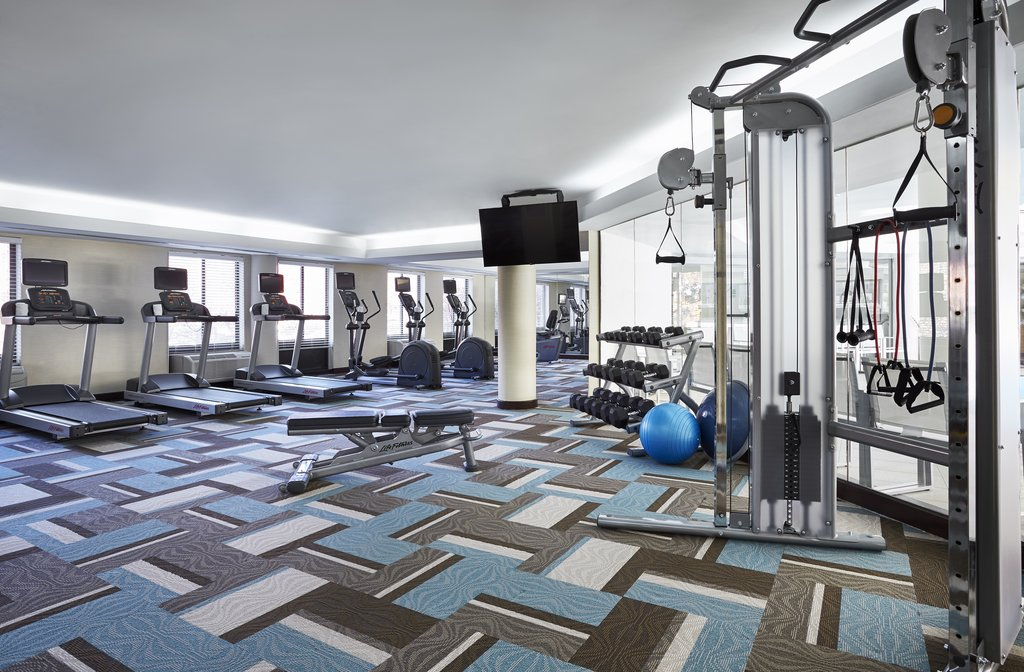 Holiday Inn Hotel & Suites Alexandria Old Town-Fitness Center<br/>Image from Leonardo