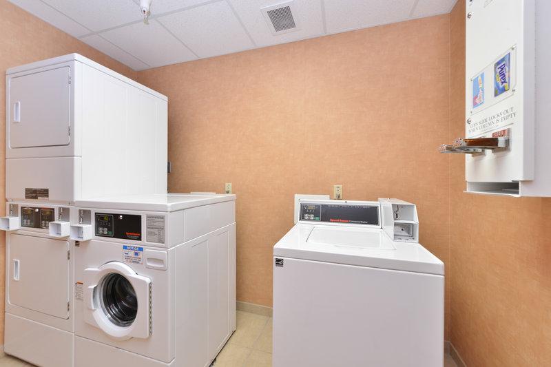 Holiday Inn Express Rawlins-Laundry Facility at Holiday Inn Express Rawlins, WY<br/>Image from Leonardo