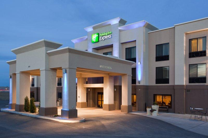 Holiday Inn Express Rawlins-Hotel Exterior at the Holiday Inn Express, Rawlins, WY<br/>Image from Leonardo