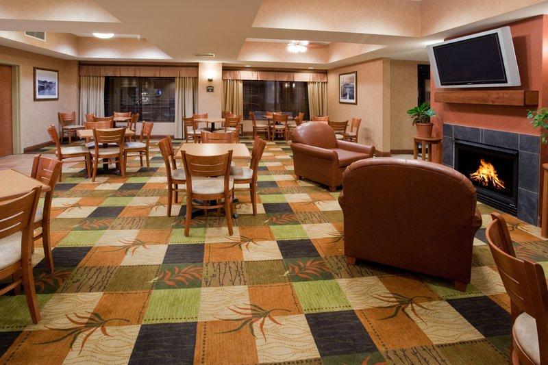 Holiday Inn Express Rawlins-Breakfast Area at the Holiday Inn Express, Rawlins, WY<br/>Image from Leonardo