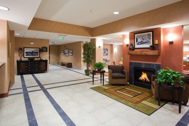 Holiday Inn Express Rawlins-Hotel Lobby at the Holiday Inn Express, Rawlins, WY<br/>Image from Leonardo
