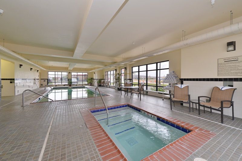 Holiday Inn Express Rawlins-Swimming Pool at the Holiday Inn Express, Rawlins, WY<br/>Image from Leonardo