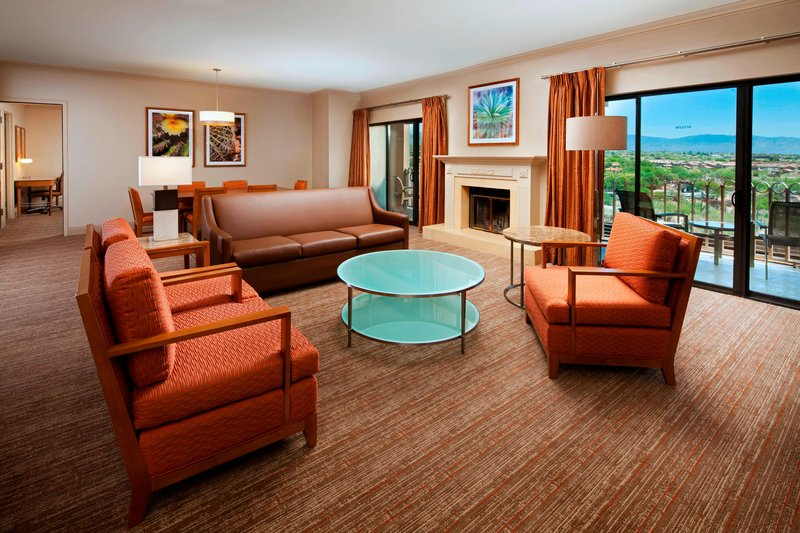 The Westin La Paloma Resort & Spa-Resort Suite Living Area<br/>Image from Leonardo