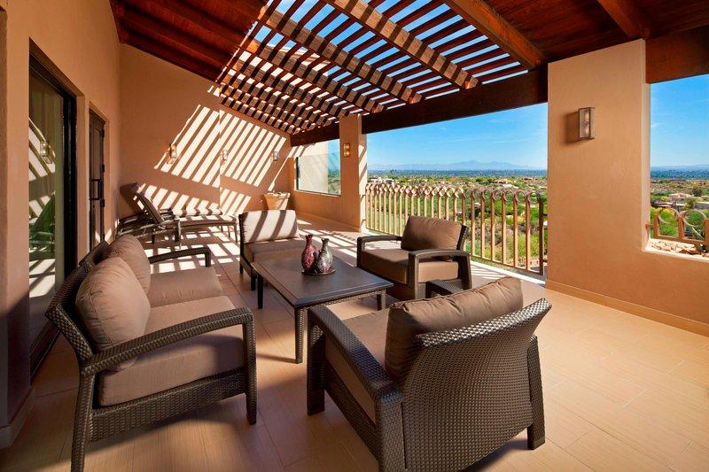The Westin La Paloma Resort & Spa-San Xavier Suite - Balcony<br/>Image from Leonardo