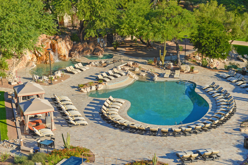 The Westin La Paloma Resort & Spa-Outdoor Pool - Aerial View<br/>Image from Leonardo