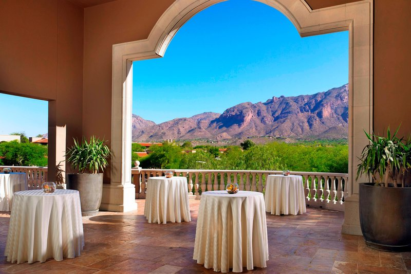 The Westin La Paloma Resort & Spa-Arizona Deck - Reception Setup<br/>Image from Leonardo