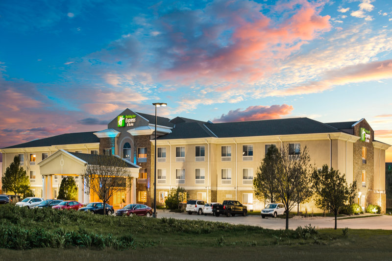 Holiday Inn Express & Suites Bellevue (Omaha Area)-We are located just 10 minutes from Offutt Air Force Base!<br/>Image from Leonardo