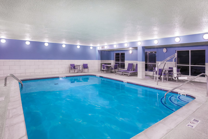 Holiday Inn Express & Suites Bellevue (Omaha Area)-Relax and unwind in our indoor heated pool and hot tub!<br/>Image from Leonardo