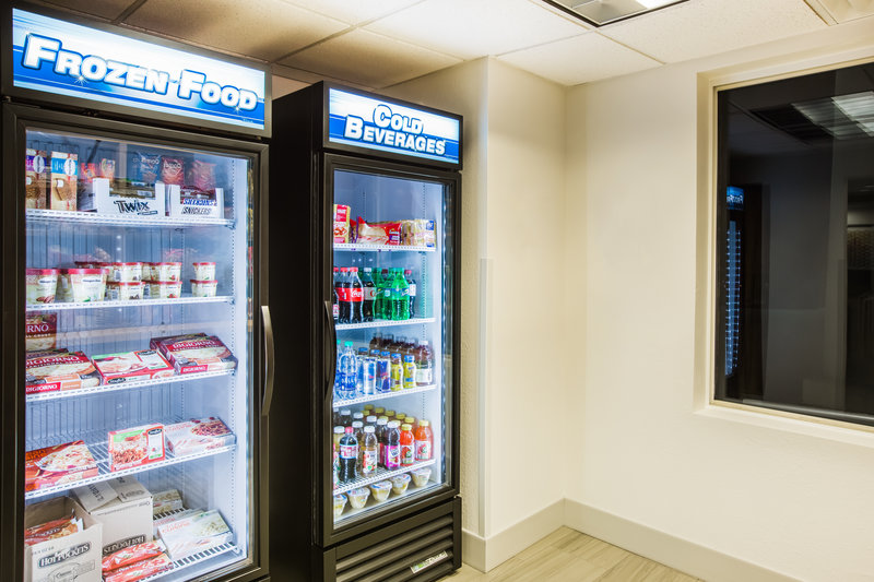 Holiday Inn Express & Suites Bellevue (Omaha Area)-Our Market is the perfect place to grab a beverage on the go!<br/>Image from Leonardo