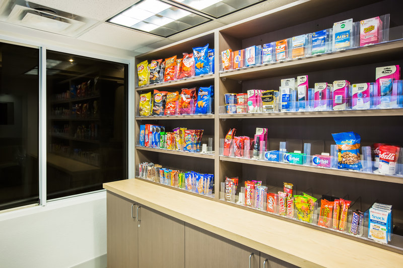 Holiday Inn Express & Suites Bellevue (Omaha Area)-Purchase snacks or small amenities in our Market, a new addition!<br/>Image from Leonardo
