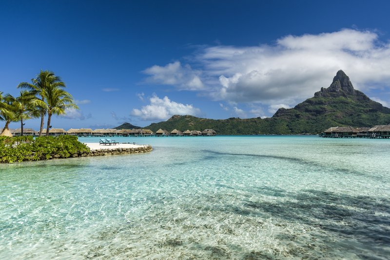 Intercontinental Bora Bora Resort-Enjoy pristine waters and views on the majestic Mt Otemanu<br/>Image from Leonardo