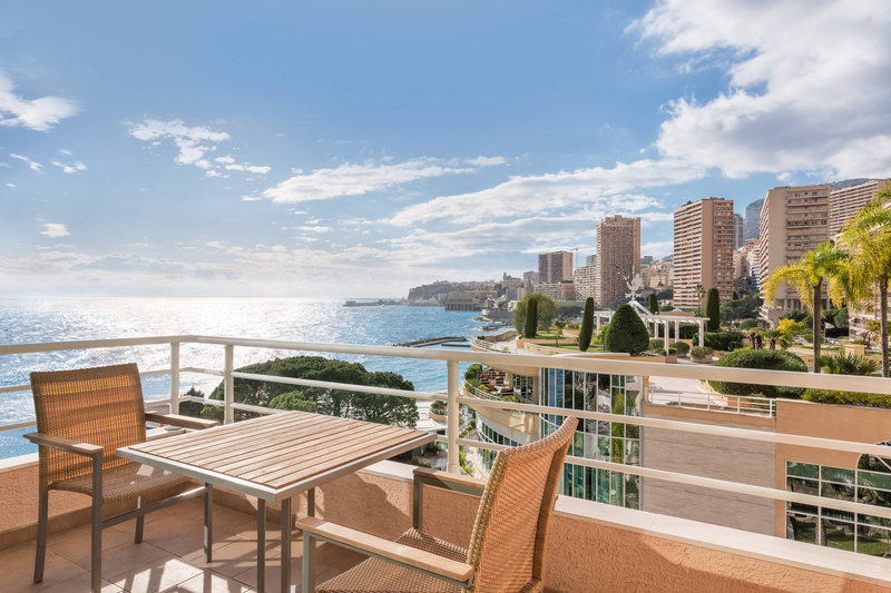 Le Meridien Beach Plaza-Deluxe lateral Room detail View Monaco<br/>Image from Leonardo