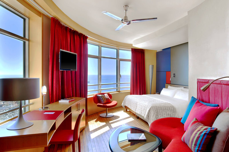 Le Meridien Beach Plaza-Design Room<br/>Image from Leonardo