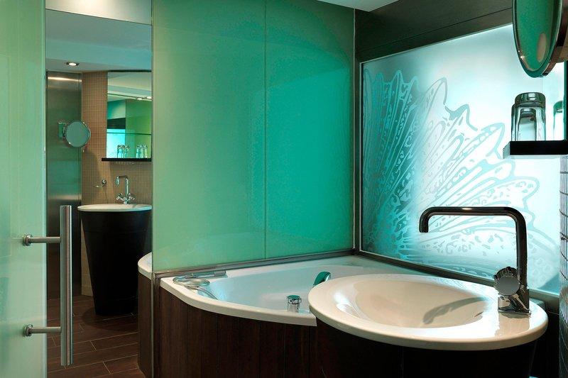 Le Meridien Beach Plaza-Design Guest Bathroom<br/>Image from Leonardo