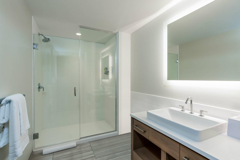 Element Austin Downtown-Guest Bathroom<br/>Image from Leonardo