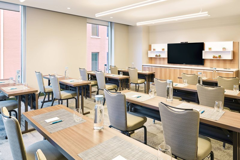 Element Austin Downtown-Meeting Room - Classroom Setup<br/>Image from Leonardo